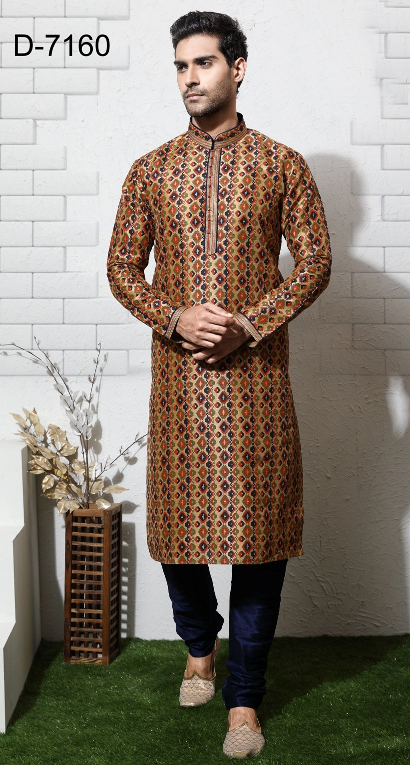 Party Wear Multi Color Indo Western  - MWFU00087