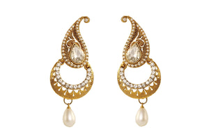 Pearl Color Ear Ring WMER000019