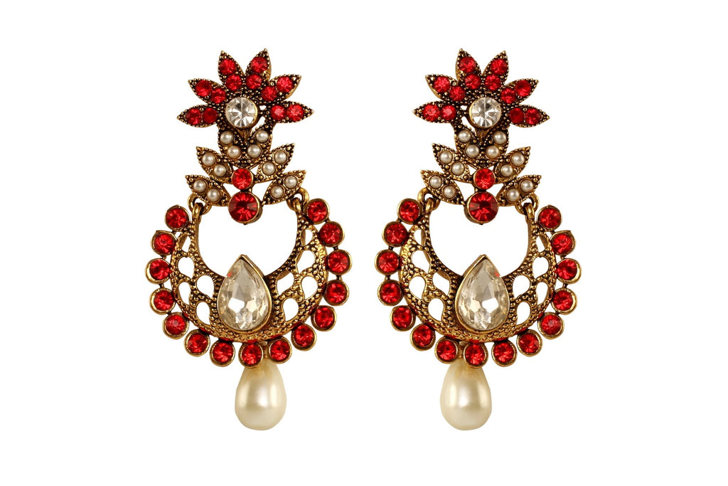 Red Color Ear Ring WMER000020
