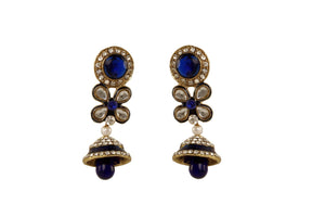 Blue Color Ear Ring WMER000024