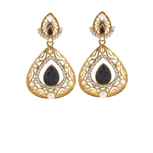 Black Color Ear Ring WMER000037