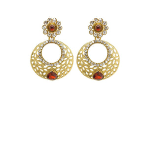Maroon Color Ear Ring WMER000038