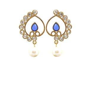 Blue Color Ear Ring WMER000048