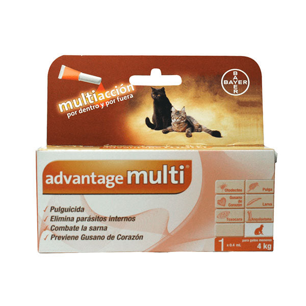 Pipeta Advantage Multi - Gato
