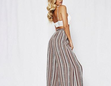 boho pants , bohemian pants, wide leg pants, stripe pants, boho clothing, loose pants