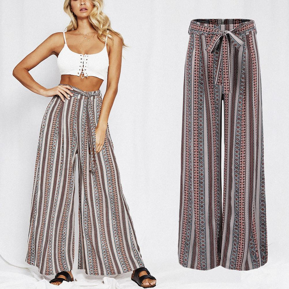 Loose Boho High Waist Pants