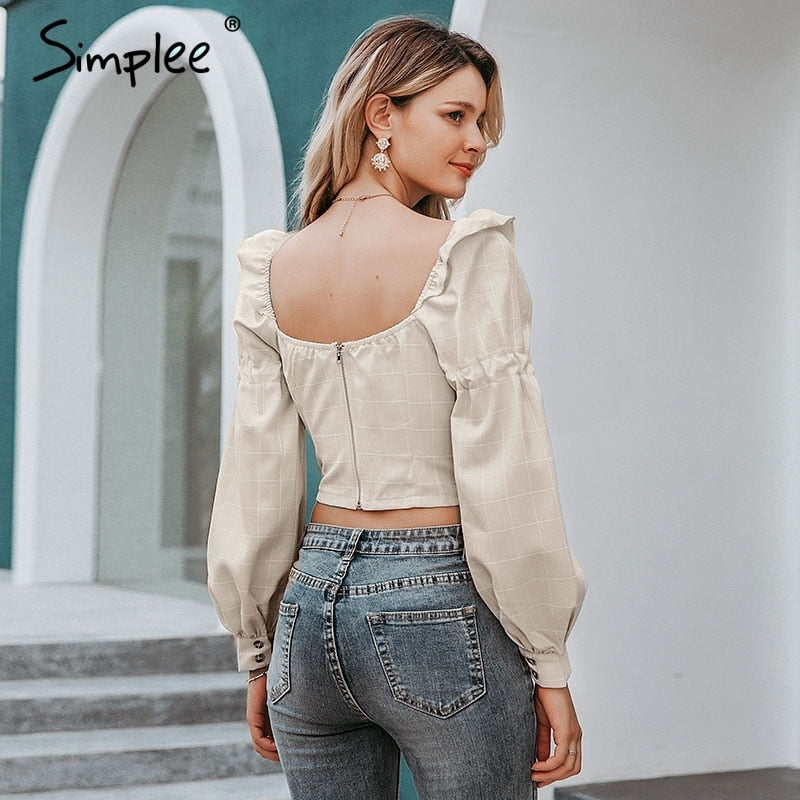 Ruffled off shoulder crop top, of shoulder boho top , off shoulder crop top, boho top , beige top