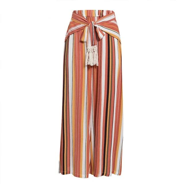 Split pants with tassels - 5 colours & prints