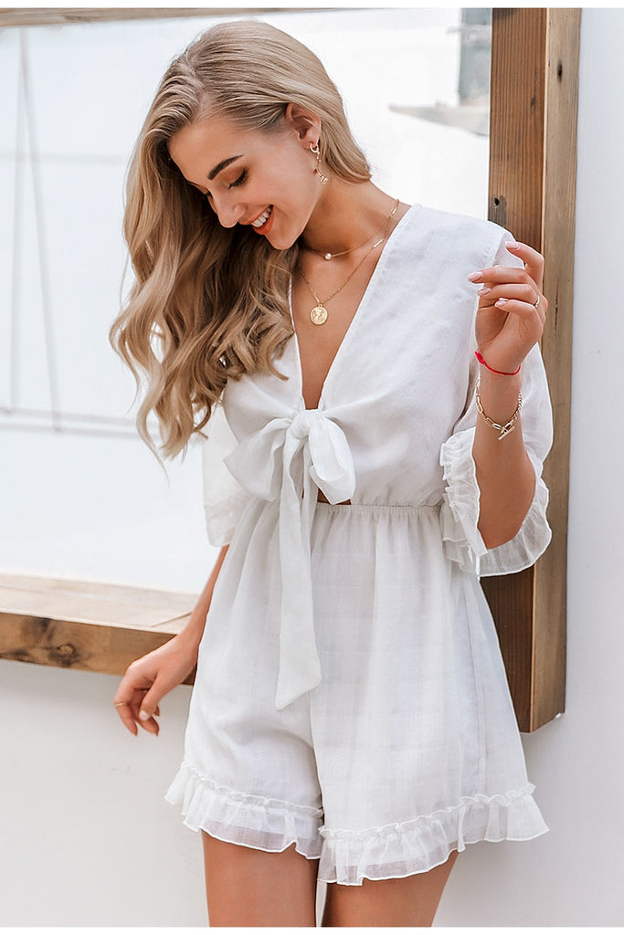 white boho playsuit, white playsuit,  white playsuit ,  boho playsuit , white  playsuit