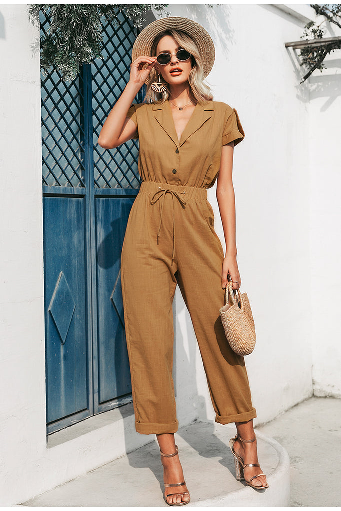 khaki jumpsuit , boho tan khaki jumpsuit , boho jumsuit, khaki playsuit . tan playsuit . tan jumpsuit