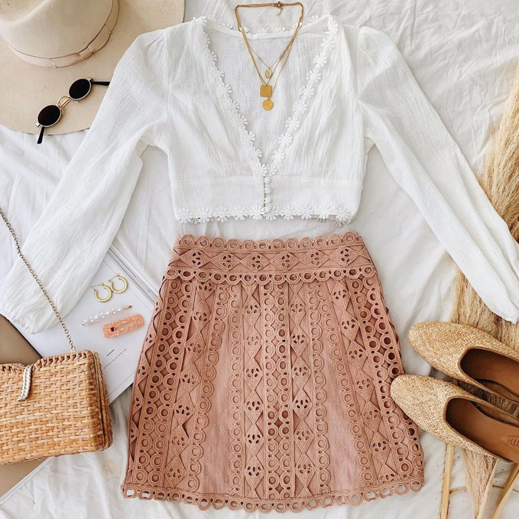 white boho top, white crop top, lantern sleeve white top