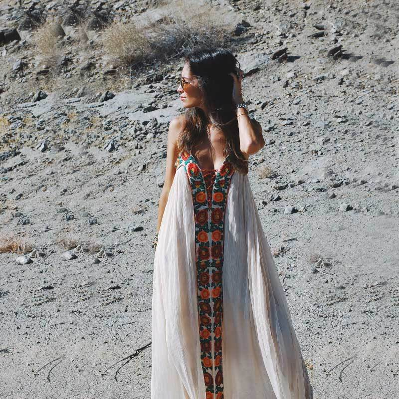 white boho maxi dress. boho dress. boho dresses. dress with embroidery. embroidered dress. white boho dress. maxi dress. white maxi dress