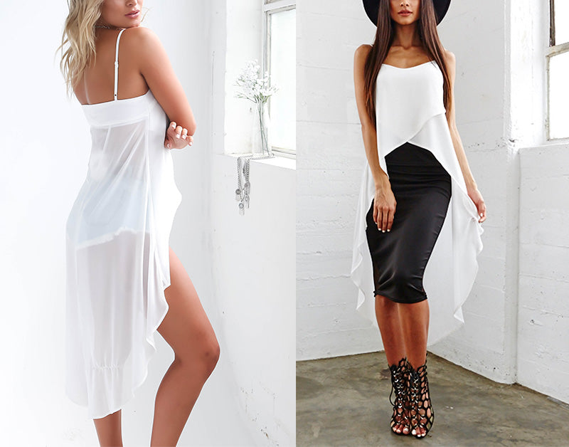 White Asymmetric Singlet Top