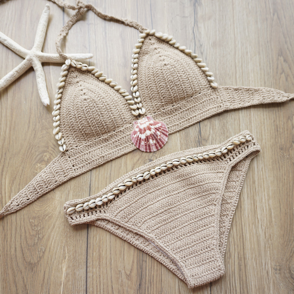 Knitted Bikini Set