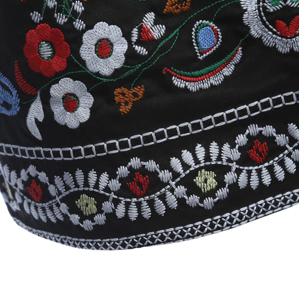 Embroidered Tribal Mini Skirt