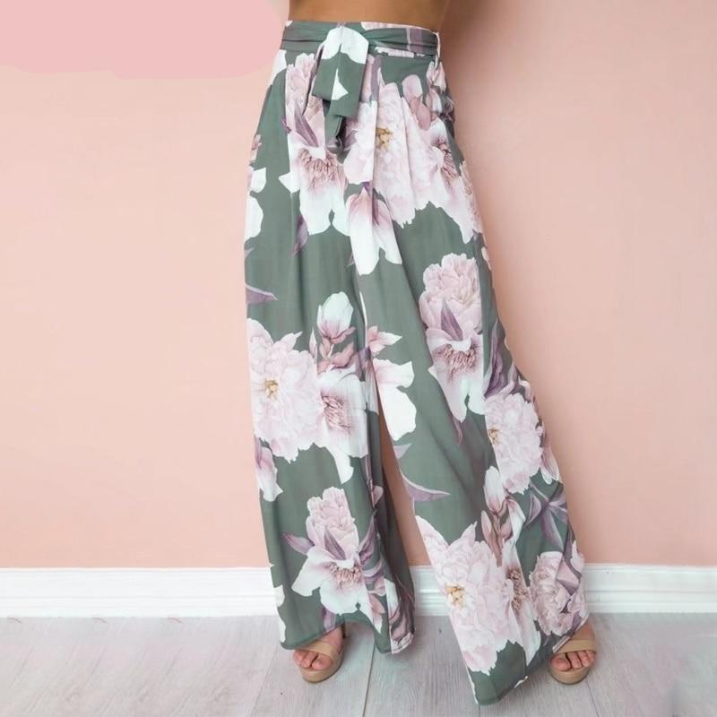 high waisted floral pants love that boho