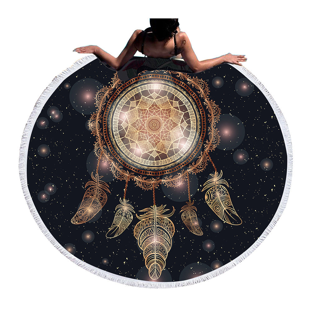 dream catcher mat , dreamcatcher yoga mat, yoga mat, dream catcher yoga / beach mat