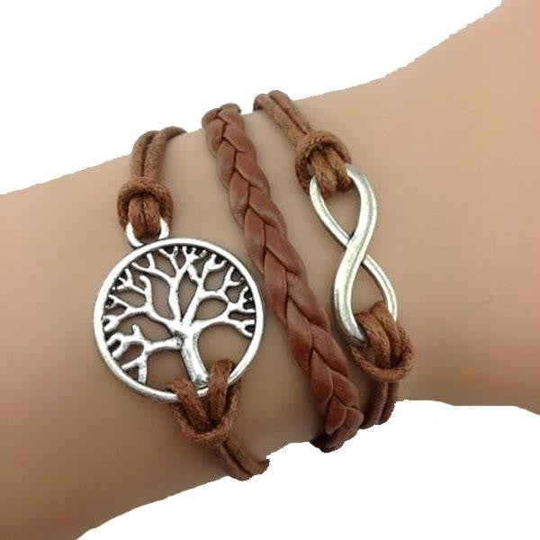 Tree of Life Tan Bracelet