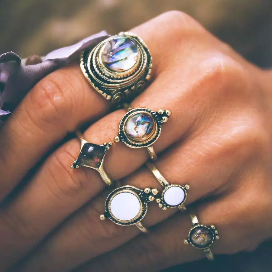 boho jewelry, boho rings, boho knuckle rings, boho jeweley , bohemian rings