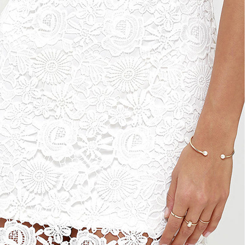 mini white dress , white boho dress , white lace boho dress