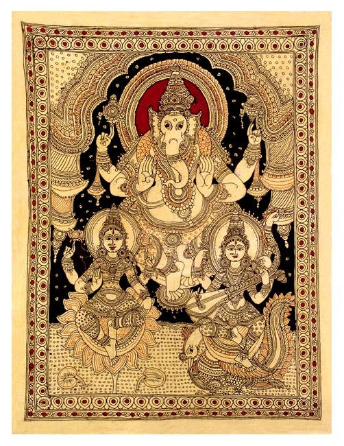 Lord Vinayaka with Mother Goddesses