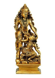 Krishna's Love - Brass Sculpture BS0202