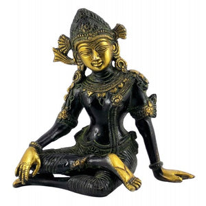 Indra The Rain God Brass Statue