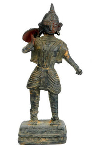"Vamana ""The Dwarf"" Incarnation of Lord Vishnu - Dhokra Statue"