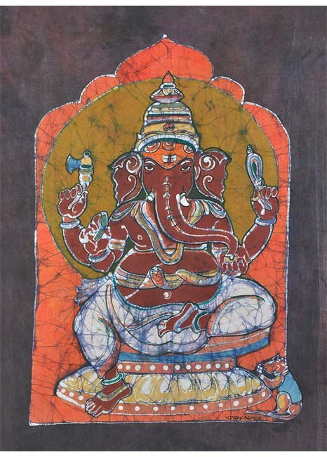 Shree Ganesh - Batik Painting