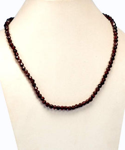 Polished Beauty - Garnet Necklaces