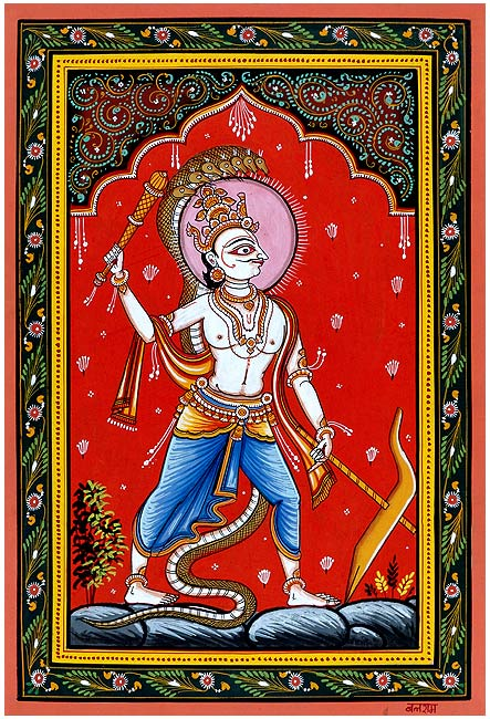 Lord Balaram Patachitra Painting 2614