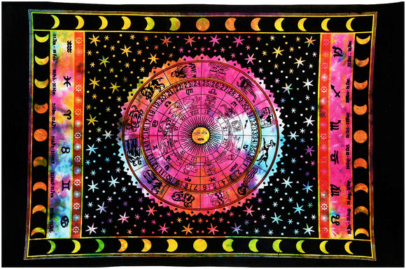 Indian Mandala Wall Hanging Bohemian Cotton Tapestries