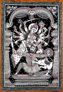 Devi Durga - Mother Goddess as Warrior