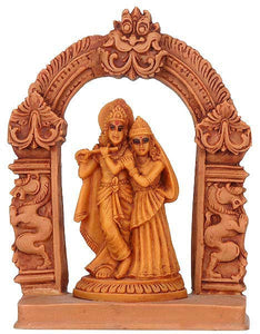 Radha Krishna - Resin Sculpture