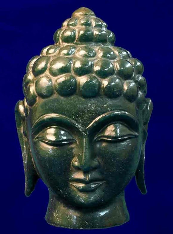 Buddha Head in Aventurine