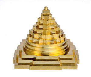 3-D Meru Shree Yantra - Large