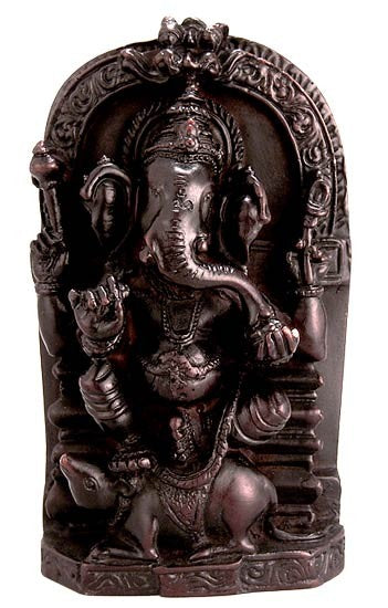 Mushak Ganesha - Resin Statue