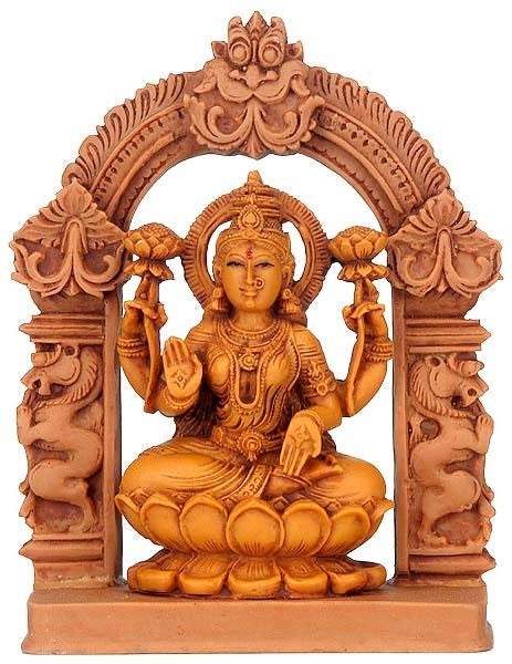Goddess Lakshmi - Resin Statue