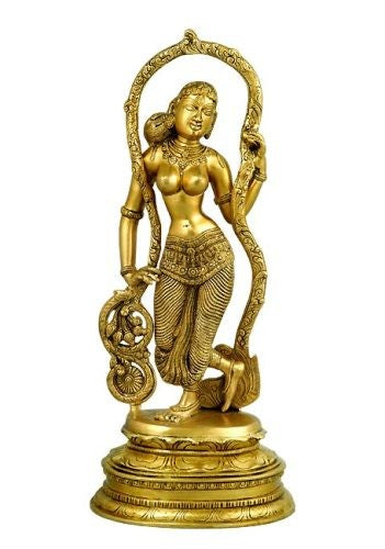 Standing Beauty - Brass Sculpture  BS0240