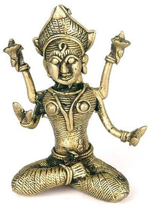 Goddess Lakshmi - Lost Wax Sculpture