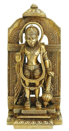 Lord  Hanuman - Brass Sculpture  BS0226