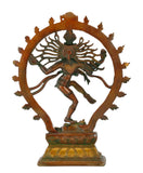 Beautiful Shiva Natarajan Brass Statue