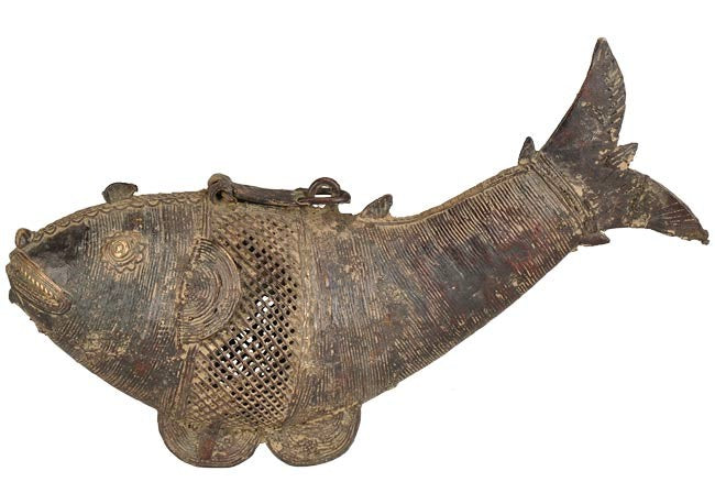 "Tribal Statue - ""The Fish"""