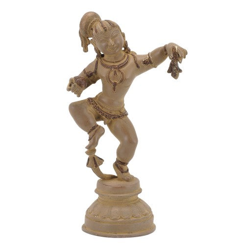 Antiquated Baby Krishna Statue