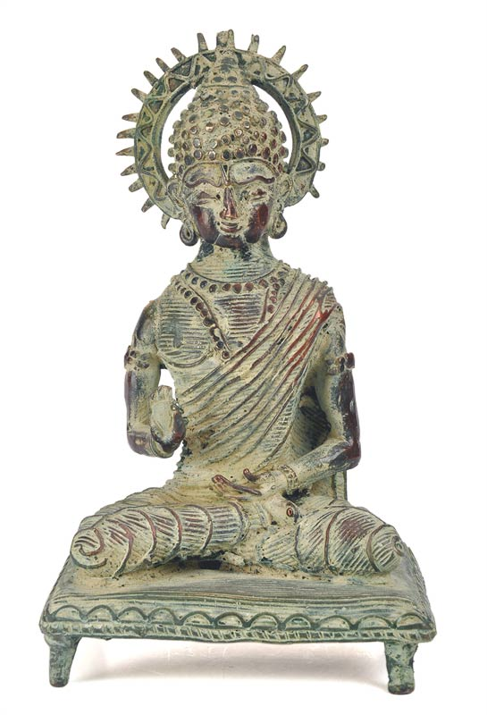 Blessing Buddha - Lost Wax Art Figure
