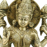 """Lakshmi"" Goddess of Wealth - Brass Statue"