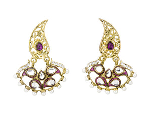 Trendy Kundan Inspired Studded Earring