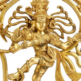 "God of Dance ""Nataraj Shiva"" - Brass Statue"