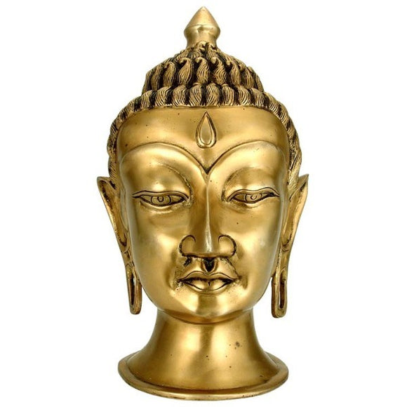 The Great Buddha - Brass Sculpture