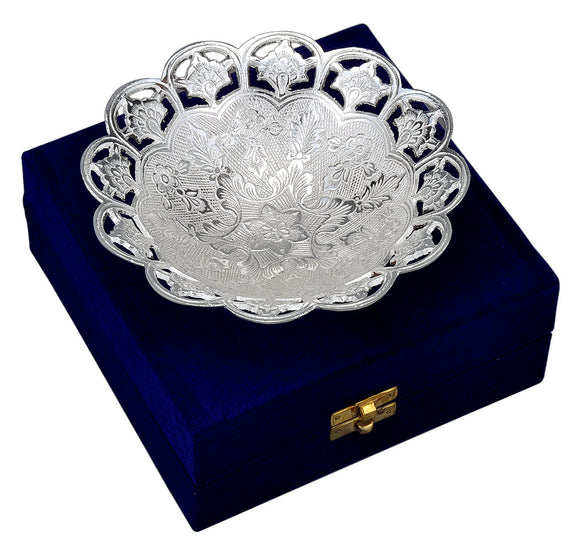 Elegant Silver Plated Bowl